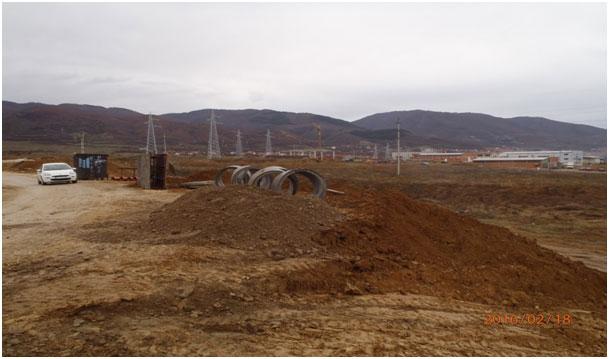 """Изградња фекалне канализационе и атмосферске мреже у индустриjској зони """"Бунушевац"""""""